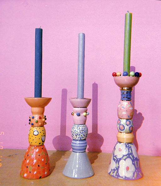 Kerzenständer/ Vasen